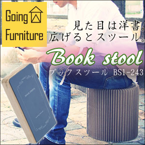 Going Furniture ブックスツールBS1-243