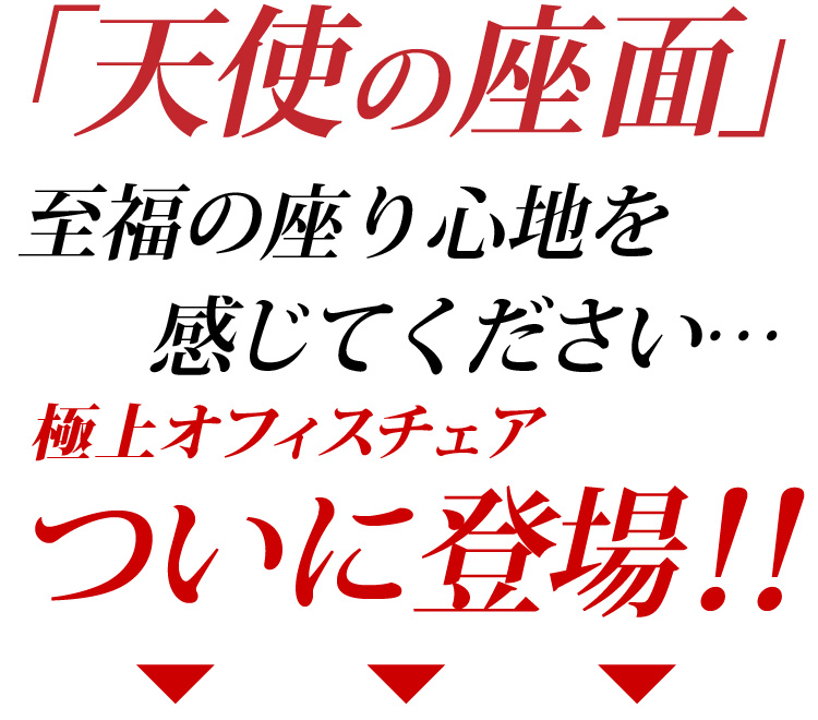 Midプレジデントオフィスチェア 【-Raphael- ラファエル 天使の座面シリーズ】